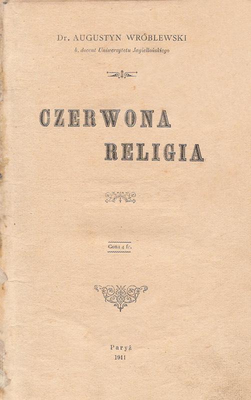Wróblewski_-_Czerwona_religia